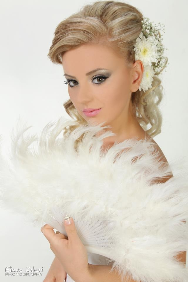 Modele Flokesh Per Nuse Wedding Hairstyle Long Hair Frizura Te