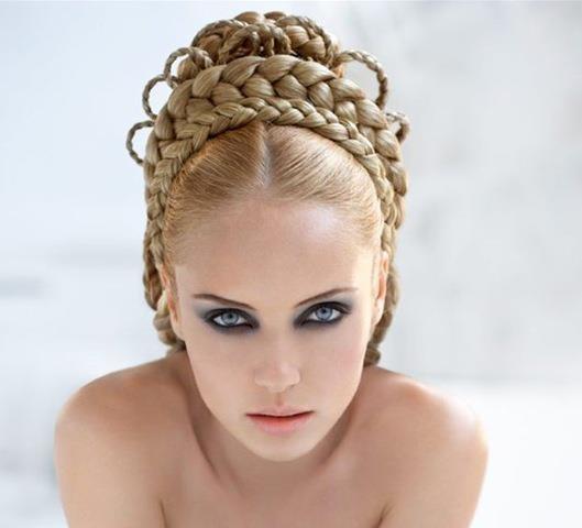 Modele Flokesh Nuse Hair Brides Wedding Dasma